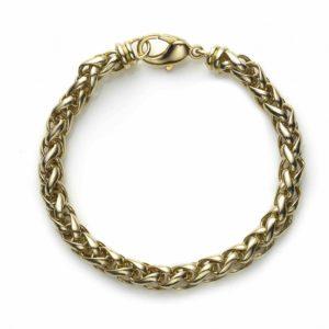 Spiga Link Gold Bracelet