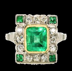 Art Deco ring Art Deco Jewellery Jewellery Discovery London