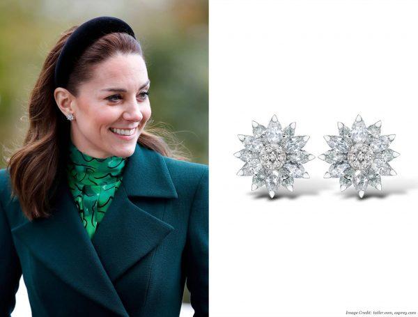 Asprey Daisy Heritage Earrings