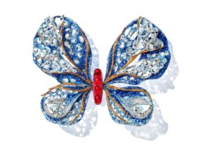 Cindy Chao Black Label Masterpiece I 'Aurora Butterfly Brooch' TEFAF Maastrichy 2020