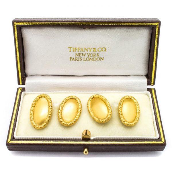 Antique Edwardian Tiffany & Co Gold Cufllinks