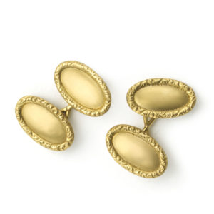 Antique Tiffany & Co gold cufllinks