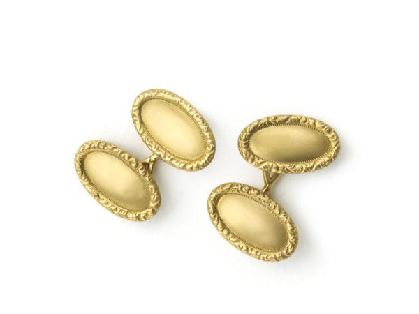 Antique Tiffany & Co gold cufllinks
