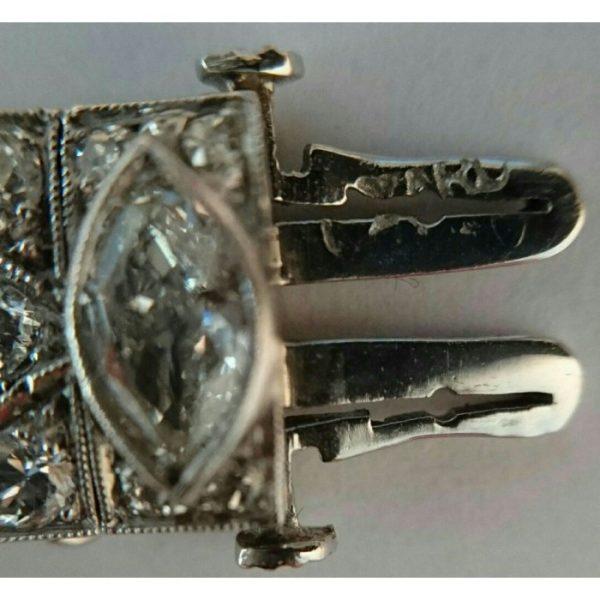 RAYMOND YARD ART DECO DIAMOND BRACELET