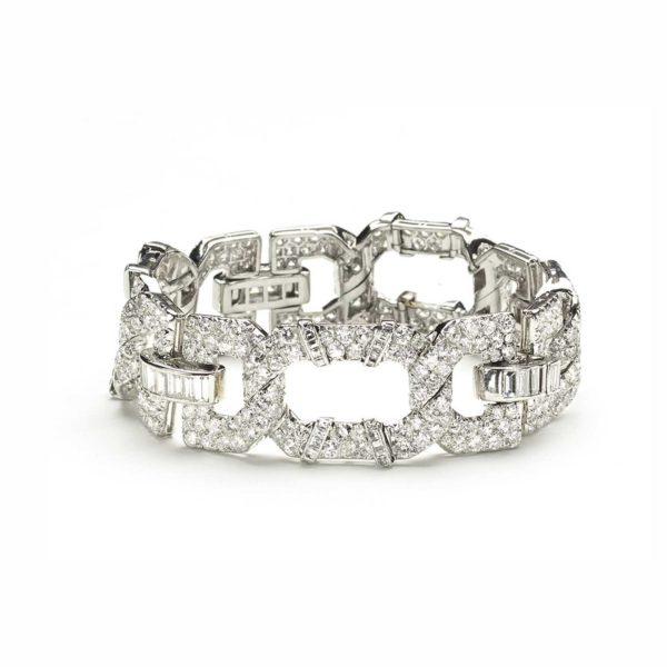 Cartier Art Deco Diamond Bracelet