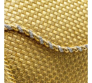 Tiffany & Co Gold Clutch Bag