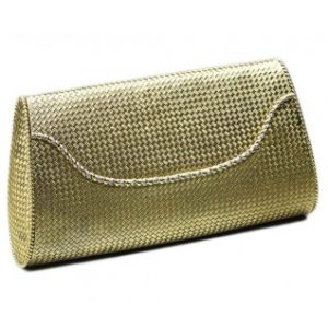 Tiffany & Co Gold Clutch Bag