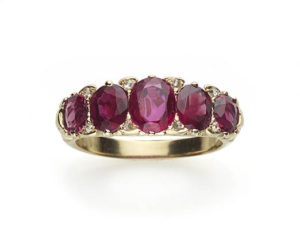 Five stone Rings