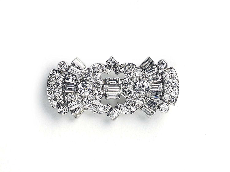 Art Deco Diamond Brooch — Jewellery Discovery