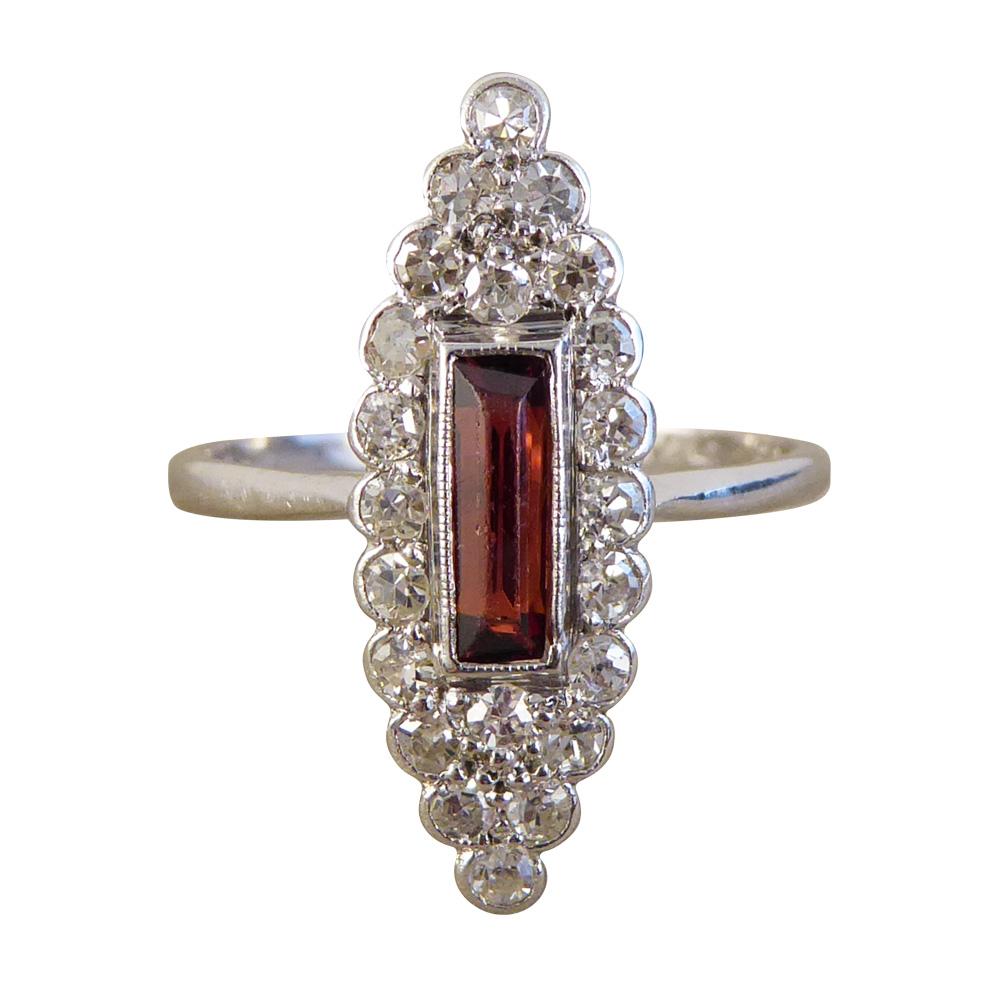 Vintage Art Deco Diamond Rings
