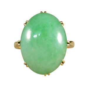 Edwardian Jade Ring