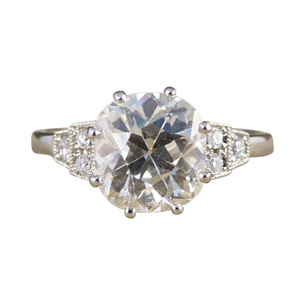 Permalink to Platinum Diamond Solitaire Ring Uk
