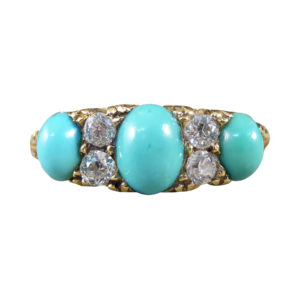 Turquoise ring December birthstone