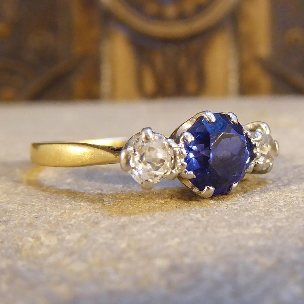 Victorian  Stone Diamond Ring
