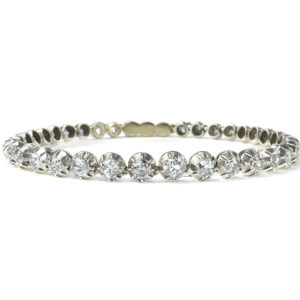 Antique Victorian Diamond Line Bracelet