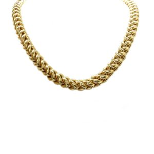 18ct Yellow Gold Signoretti Chunky Link Necklace