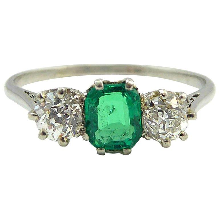 Vintage cartier diamond rings