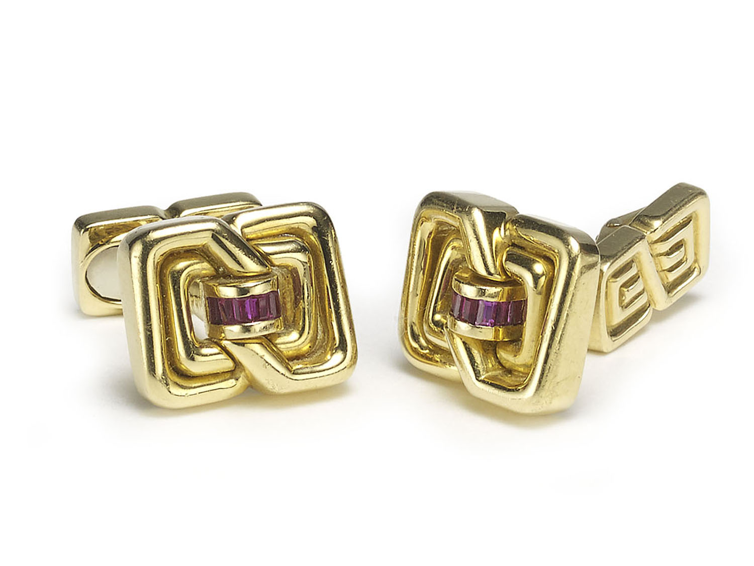 Vintage Tiffany & Co. Gold Cufflinks