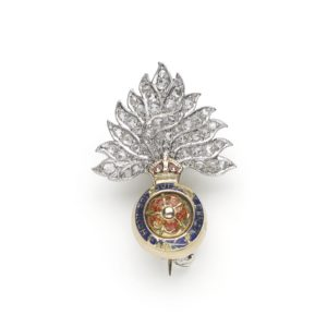 Vintage British Royal Fusiliers Badge