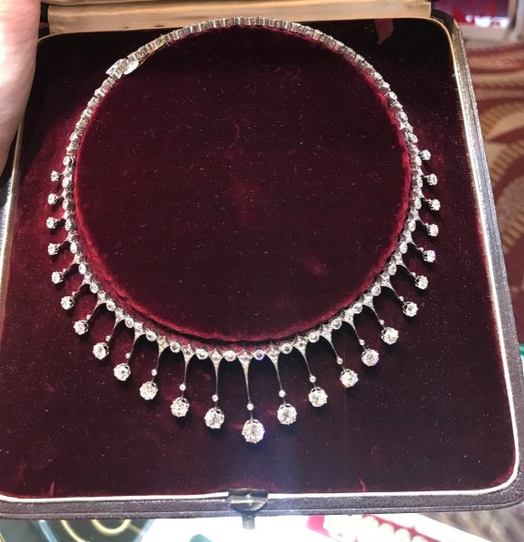 Jewellery Discovery Antique French Diamond Fringe