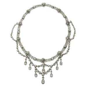 Antique Edwardian Diamond Necklace