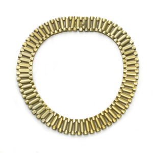 Antique Victorian Gold Collar Necklace