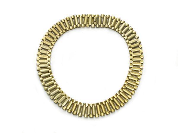 Antique Victorian Gold Collar Necklace
