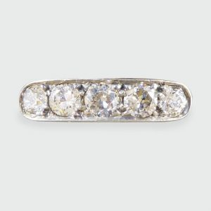 Antique Art Deco Five Stone Diamond Ring
