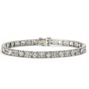 Art Deco diamond bracelet s