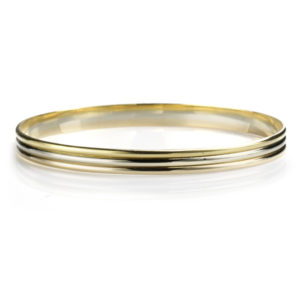 18ct Trinity Gold Bangle