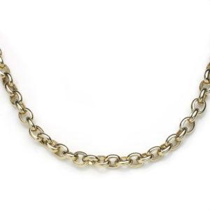 Belcher Link Gold Necklace