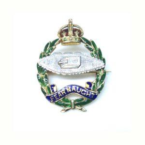 Antique Royal Tank Regiment Sweetheart Brooch Lapel Pin