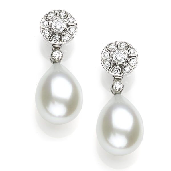 Convertible Pearl Drop Earrings