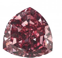 The Moussaieff Red Diamond 5.11 carats