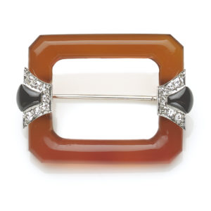 Fine Antique Art Deco Brooch