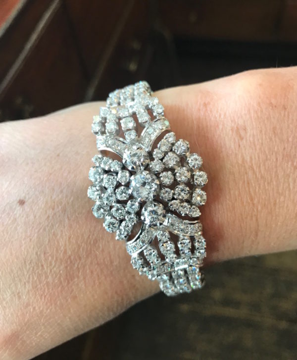 Large Diamond Bracelet