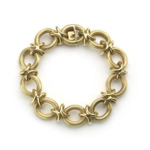 Antique Edwardian Gold Bracelet