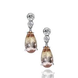 Imperial Topaz Drop Earrings