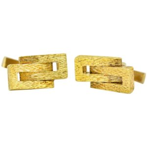 Vintage Kutchinsky Gold Cufflinks