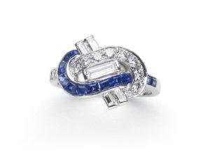 Antique Art Deco Oscar Heyman Ring
