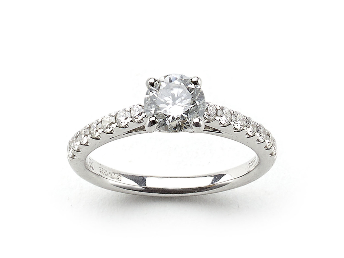 480a929d7 Single Stone Diamond Engagement Ring, 0.76 carats — Jewellery Discovery