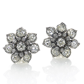 Antique Victorian Diamond Earrings