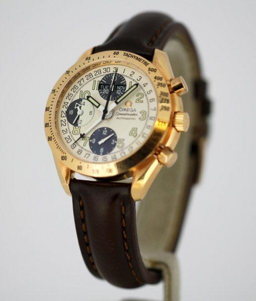 Vintage Omega Speedmaster Triple Date Chronograph Automatic