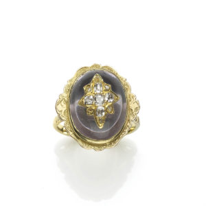 Antique Victorian Diamond Set Dress Ring