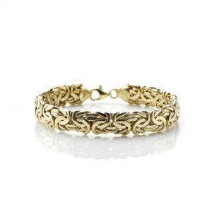 Gold Bracelet Byzantine Link Bracelet