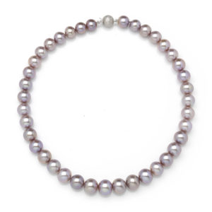 Dusky Pink Pearl Necklace