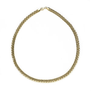 Woven Link Necklace