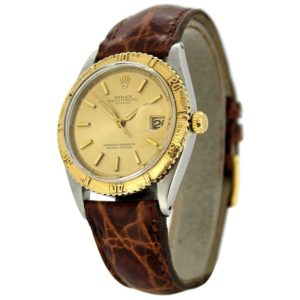 """Vintage Rolex Oyster Perpetual DateJust """"Thunder Bird"""" Turn-o-Graph Wristwatch"""
