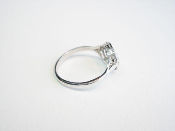 Antique Art Deco Diamond Cluster Ring