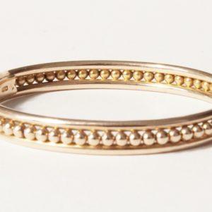 Rose Gold Bead Detail Bracelet